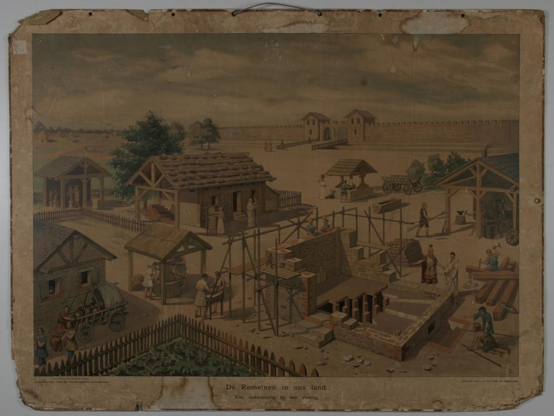 De Romeinen in ons land: een nederzetting bij een vesting