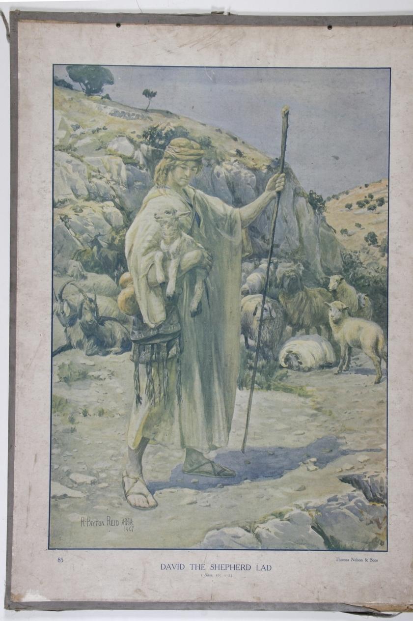 David the shepherd lad