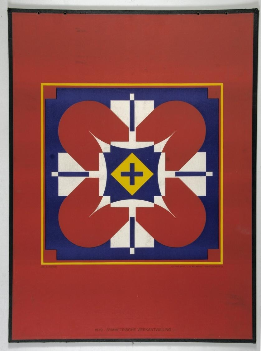 Symmetrische vierkantvulling